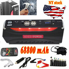 Car Jump Starter 68800mAh Booster Power Battery Bank Charger for Petrol Mobile Y