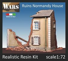 WARS Rovine di casa in Normandia/Normandy house in ruins 1/72