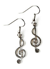 Music Note Earrings - Accessories - Women's Jewelry - Handmade - Gift Box
