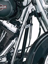 Kuryakyn Chrome Down Tube Front Frame Covers Accent Trim Harley Softail 07-2017