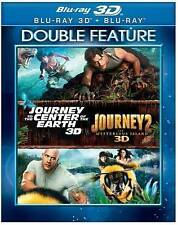 JOURNEY TO THE CENTER OF THE EARTH / MYSTERIOUS ISLAND [3D/2D] (NEW BLU-RAY)