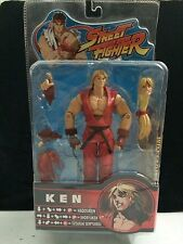 KEN Red variant SOTA Toys Street Fighter Round 2 2005 Action Figure CIB Complete