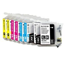 8-PACK (Bk,C,M,Y) High Yield Ink Cartridge Set for Brother MFC-J6920DW Printer