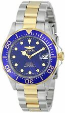 Invicta Pro Diver Automatic Blue Dial Two-tone Stainless Steel Mens Watch 17042
