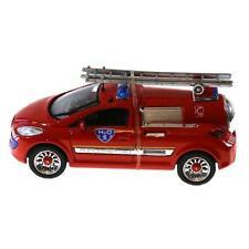 Concept car Pompiers, peugeot 206 pile a combustible 1/43