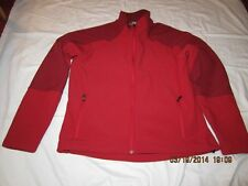 Preowned Men's Size Large Two Tone Red Jacket with Fleece Lining 0 DAR2