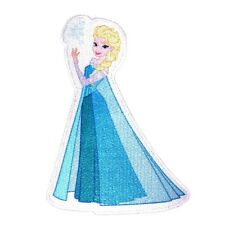 Princess Elsa the Snow Queen Kids Disney Movie Frozen Iron On Applique Patch