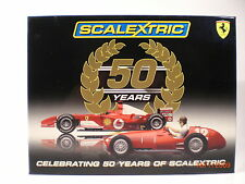 Scalextric UK C2782A 50th Aniversary 2 Car Set Ferrari Formula 1