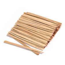 100 Small Wooden Waxing Sticks Eyebrow Sticks Applicators - pw5011x1