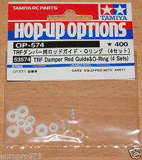 Tamiya 53574 TRF Damper Rod Guide & O-Ring (4 Sets) (TRF416/TRF417/TRF418)