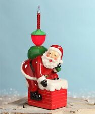 Retro Bubble Light Santa and Chimney Bethany Lowe Designs jg4740 NEW