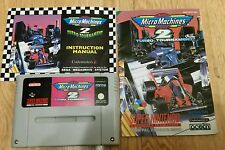 Micro MACHINES 2-Super Nintendo SNES GAME-VERSIONE PAL 100% WORKING