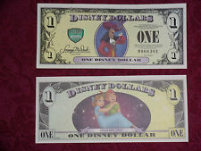 2013 $1 Disney Dollar featuring Captain Hook - D Series  -  NEW