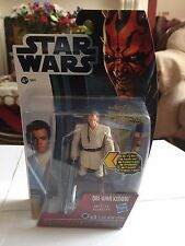 Star wars: movie heroes: obi-wan kenobi with light-up sabre laser figure (MH16)