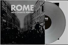 ROME Nos Chants Perdus - LP / Silver Vinyl - Limited 500