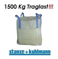 1 x Transportsack Big Bag Größe 90x90x90cm Tragfähigkeit 1500kg - sehr robust !