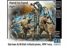 MasterBox MB35116 1/35 British & German infantrymen Hand to hand Fight WWI era