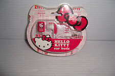 HELLO KITTY PINK & WHITE  EAR BUDS COMPATIBLE WITH MOST DEVICES NEW IN PACKAGE!