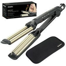 Babyliss 2337u Wave Envy Hair Styler Triple Barril Placas De Cerámica Curling Tong