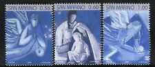 SAN MARINO 2008 NATALE-CHRISTMAS/DESIGNS/ANGEL/HOLY FAMILY/MUSIC/TRUMPET