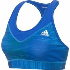 ADIDAS Women's Tech Fit Sports Bra Top NWT Bold Blue SIZE: MEDIUM