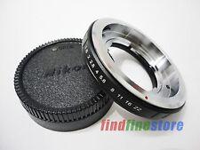 Voigtlander Retina DKL Lens to Nikon AI F adapter D5100 D5300 D80 D3 D7100 + CAP