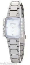 Skagen Women's Mother of Pearl Dial Stainless Steel Bracelet Watch 688SSX