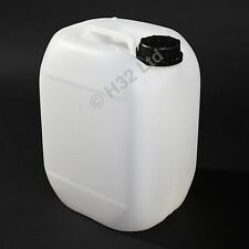 10 x 10L 10 Litre New Plastic Water Carrier Drum Container Jerrycan Bottle 25L