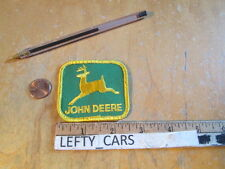 JOHN DEERE EMBROIDERED CLOTH PATCH - SEW ON TYPE