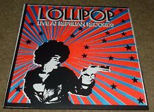 """LOLLIPOP 7"""" 45RPM PS LIVE AT REPTILIAN RECORDS ROCK INDIE PUNK NOISE REPTILIAN"""