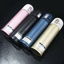 500ML Stainless Steel Travel Mug Tea Coffee Water Vacuum Cup Thermos Bottle 1PC