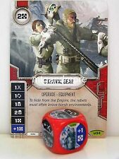 Star Wars Destiny - 1x #034 Survival Gear + Die - Awakenings