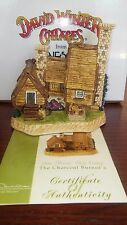 "David Winter Cottages ""The Charcoal Burner's"" 1998 Member Only w/ Box & COA"