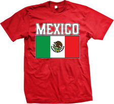 Bold Mexican Flag - Mexico Nationality Pride  Mens T-shirt