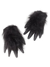 Deluxe Gorilla Monkey Ape Wild Animal Rubber Hands Fancy Dress Prop Accessory