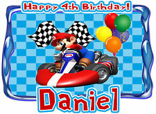 Mario Kart Wii Birthday Party t Shirt Iron On Transfer Personalized Decal
