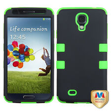 For Samsung i9500 GALAXY S4 Heavy Duty Hybrid Defender Silicone Skin Case Cover