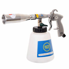 Air Cleaning Gun METAL TUBE and NOZZLE TORNADO EFFECT for Car Upholstery