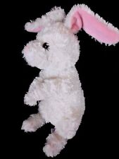 Gund Kohls Cares Stuffed Plush Beanie White Bunny Rabbit Soft Bean Posable Ears