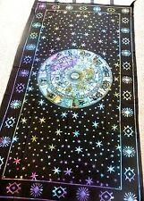 """Hippie Tie Dye Curtain/Tapestry Tie Dye Zodiac 44"""" x 88"""" CT22TD"""