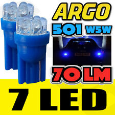 7 LED XENON BLUE 501 194 T10 W5W SIDELIGHT BULBS VAUXHALL ZAFIRA MPV