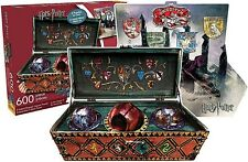 Harry Potter Quidditch en forma de 600 Pc 2 Lados Rompecabezas 550mm x 400 mm (nm)
