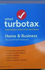 NIB Factory sealed Intuit TurboTax Home & Business 2016 tax year