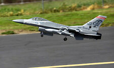 LX 1.3M RC KIT Grey F16 Fighting Falcon Jet Plane EDF W/O RC Bat & Electronics