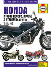 Haynes 1988-2005 Honda NTV600 Revere NT650 Deauville Repair Service Shop Manual