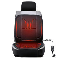 12V NEW Black Winter Thermal Heated Hot Car Seat Cover Pad For Front Right Seat