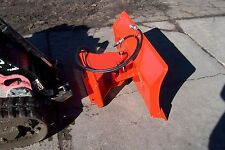 """new 56 """" 4 way dozer blade plow for mini skid steer fits Dingo, Ditch Witchxt850"""