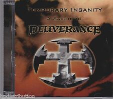 TRIBUTE TO DELIVERANCE: TEMPORARY INSANITY (2-CD, Roxx, 2010) Christian Metal