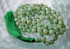 Heart Chakra 108 Green Aventurine Knotted Mala Bead for Unconditional love