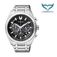 Citizen Super Titanium Chrono señores reloj de pulsera ca4010-58e zafiro Eco-drive nuevo